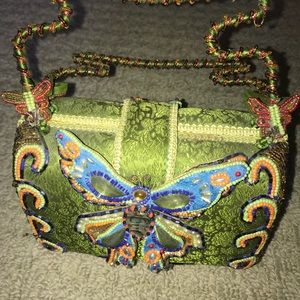 MARY FRANCES butterfly bag